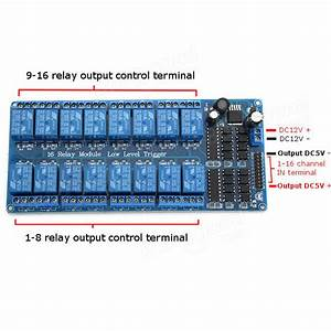 16 Relay Trigger 12v Lm2596 Power Control Module With