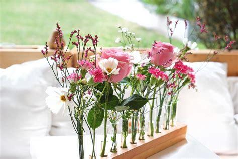 flowerpower basteln tischdeko sommer tischdeko blumen