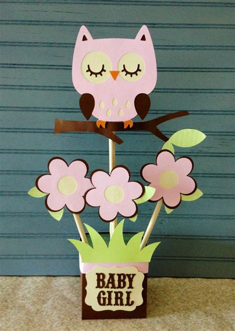 Owl Baby Shower Decorations - owl baby shower centerpiece