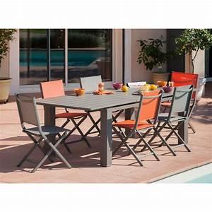 Table De Jardin Extensible : table de jardin elena extensible 180 240 cm en aluminium proloisirs ~ Teatrodelosmanantiales.com Idées de Décoration