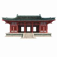 Chinese 3D Building Model