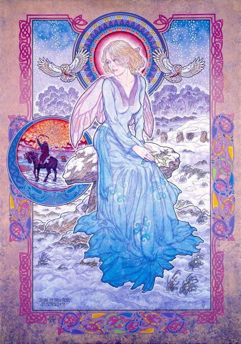 SIOCHRA THE SNOW FAERIE   Jim FitzPatrick   Celtic fantasy ...