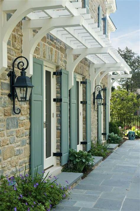 Awning Trellis  Architectural Styles Pinterest