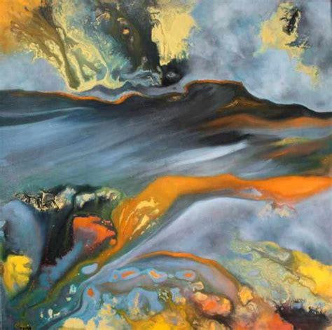 artiste peintre abstrait moderne abstrait moderne tableau d other metro par catherine tapon artiste peintre