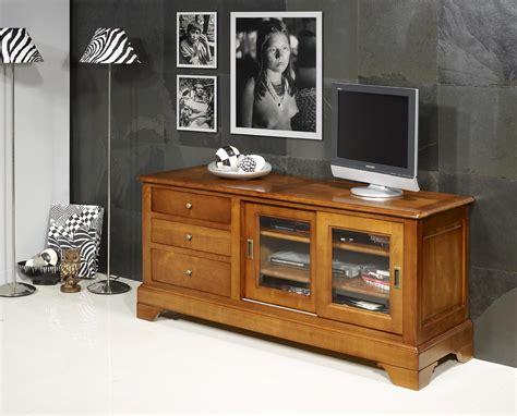 grange cuisine meuble tv 16 9eme e en merisier massif de style louis