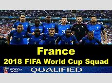 France 2018 FIFA World Cup Squad, Schedule, Jersey