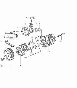 Porsche 996  Boxster Power Steering Fluid Tank
