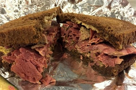 cuisine food twelve more sandwiches from boston area dining spots corned beef sandwich from beantown