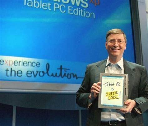 Bill Gates y las tablets en 2001 - Tecnovortex