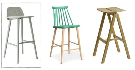 tabouret ilot central cuisine tabouret de bar scandinave le top10