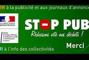 Pas De Pub Merci : autocollant stop pub acheter ou t l charger la planche ~ Dailycaller-alerts.com Idées de Décoration
