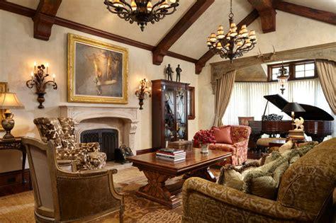 Timeless Tudor Estate  Traditional  Living Room