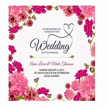 Card Floral Invitation Cards Rectangular Latest Pattern