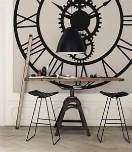 Horloge Murale Maison Du Monde : horloge g ante murale maison du monde id e inspirante pour la conception de la maison ~ Teatrodelosmanantiales.com Idées de Décoration