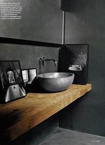 Bois Pour Salle De Bain : regardsetmaisons une planche en bois dans la salle de bain ~ Melissatoandfro.com Idées de Décoration