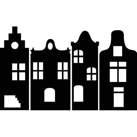 Kleurplaat Huisjes by Gracht Huisjes Bestellen Muurteksten Nl