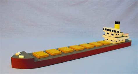 big cargo ship  images wooden toys plans