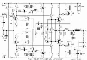 Power Amplifier 65w With Hexfet
