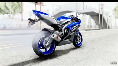 yamaha yzf r6 2006 with 2015 livery pour gta san andreas