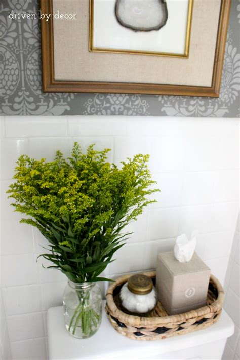 gray bathroom ideas and finally the bathroom reveal driven by decor