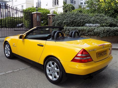 Slk230 kompressor 2dr convertible 21 of 22 people found this review helpful of all the roadsters out there under $50k, this one is the easiest to live with every day without giving up the fun. Used 1998 Mercedes-Benz SLK 230 KOMPRESSOR for sale in Greater London | Pistonheads