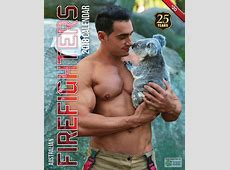 Australian Firefighter Calendar Rydges Fortitude Valley