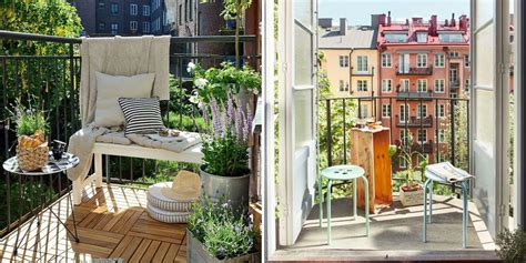nos meilleures idees pour amenager  petit balcon marie