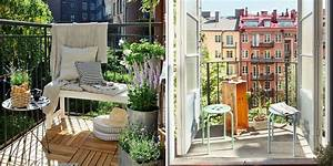 Salon Pour Balcon : nos meilleures id es pour am nager un petit balcon marie claire ~ Teatrodelosmanantiales.com Idées de Décoration