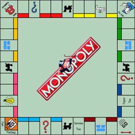 monopoly board monopoly the tweaker
