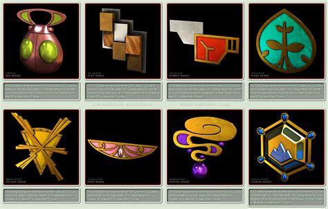 Pokemon Gym Badges 3d Kalos League By Robbienordgren On