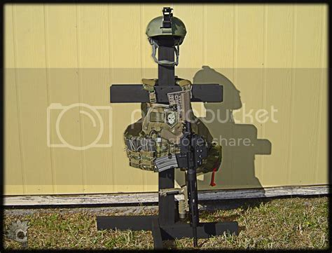 tactical gear stand