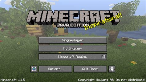 Java Edition 115 Official Minecraft Wiki