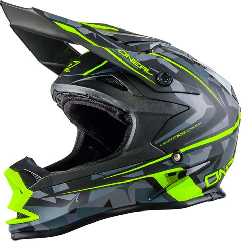 oneal motocross helmets oneal 7 series evo camo motocross helmet acu off road mx