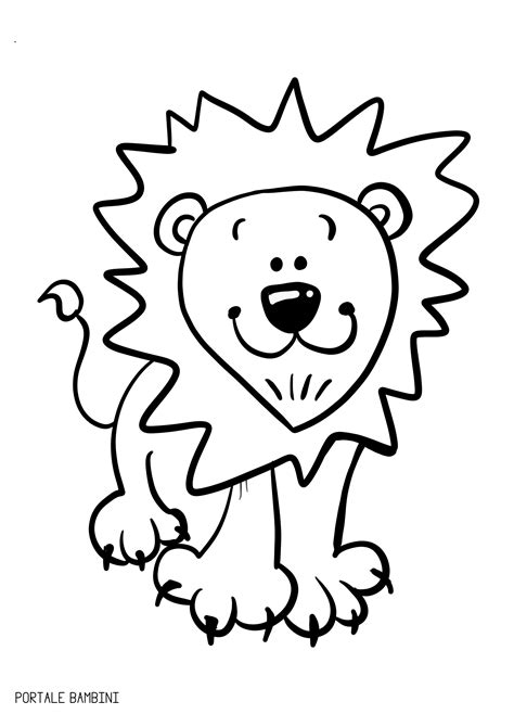 immagini di animali da colorare per bambini animali da colorare sta le schede portale bambini