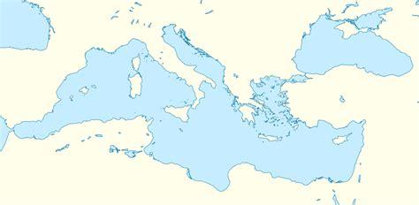 filemediterranean sea location map blanksvg