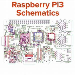 Something We Loved From Instagram   Raspberry Pi3 Schematics  Partial Schematics And Mechanical