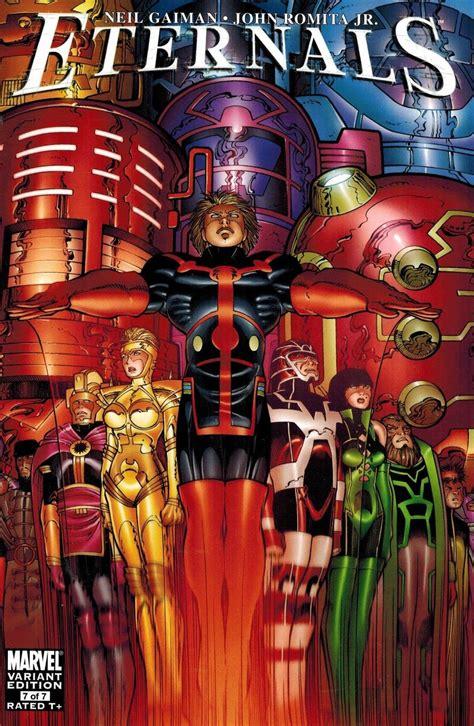 Eternals #7 John Romita Jr Variant Neil Gaiman - Ultimate ...
