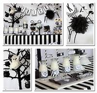 black and white decorations Juoda – balta