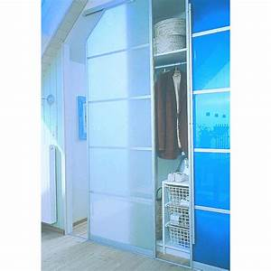 Porte Coulissante Vitree : portes de placard en verre structure aluminium porte ~ Dode.kayakingforconservation.com Idées de Décoration