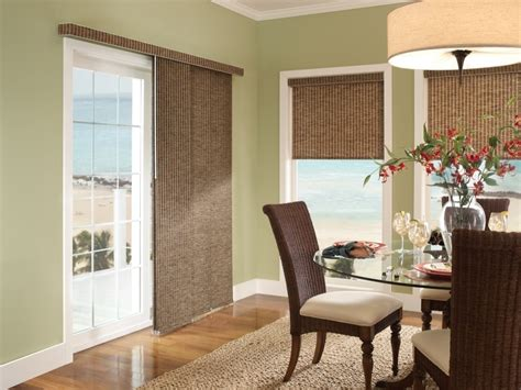 Window Treatments For Doors by Window Treatment Ways For Sliding Glass Doors Theydesign