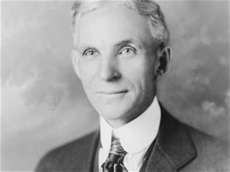biografia henry ford