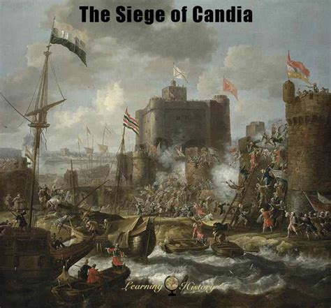 siege pouf the siege of candia 1648 1669 learning history