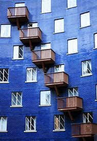 Blue Architecture Buildings