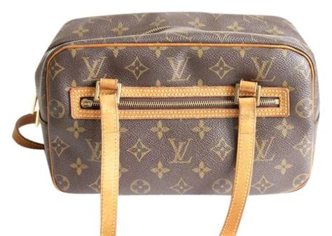 louis vuitton monogram exterior zipper pocket brown