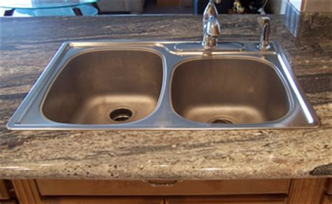 undermount sink vs top mount undermount vs topmount sinks stoneworks granite