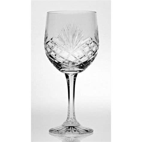 verre en cristal 6 verres 224 vin verres 224 eau en cristal d 233 coration taill 233 e majestic achat vente