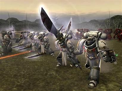 Knights Grey Warhammer War Dark Sci Fi