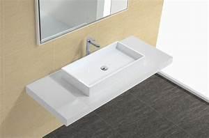 Vasque à Poser Design : vasque poser rectangulaire comby 60x40 lavabos design ~ Edinachiropracticcenter.com Idées de Décoration
