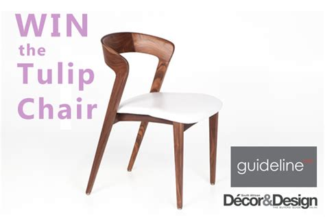 The Chair Competition by Win The Timeless Tulip Chair From Guideline Mnf Sa D 233 Cor
