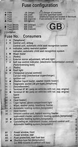 Missing Fuses On 97 Slk 230k  Gb Version  Non Usa